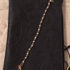 Vintage Monet faux pearl bracelet
